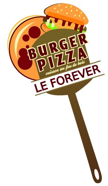 Le Forever – Restaurant Pizzeria Brasserie – Pizzas cuites au feu de bois – 49380 Chavagnes-les-Eaux, Thouarcé, Martigné le Brillant, brissac Logo